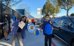 A picture from Oak's 6th Grade Lion Pride Parade.
